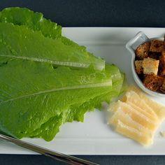 Smokey Caesar Salad with Rosemary