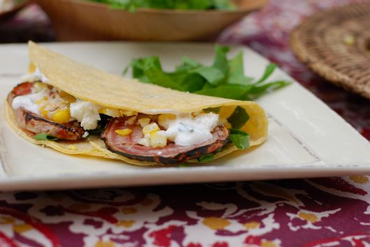 Grilled Beet Tacos