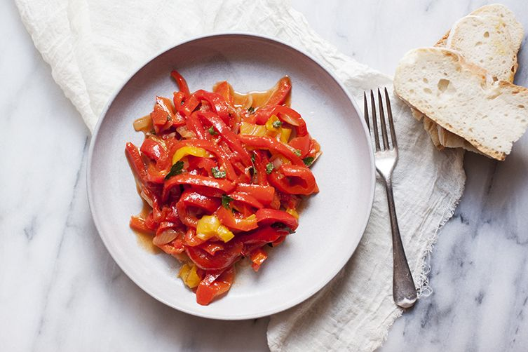 Peperonata (Red Pepper Stew)