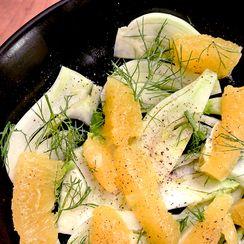 fennel & orange salad {insalada di finocchio e aranci}