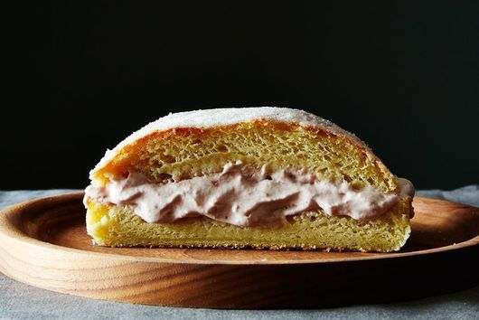 A Giant Jelly Donut Cake for Hanukkah