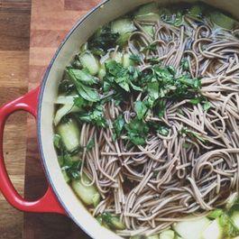 asian soup by Karolina B. Jung