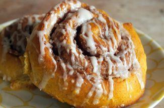 Roasted Squash Cinnamon Rolls Recipe on Food52