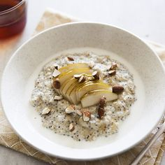 Quinoa, Oat and Chia Porridge