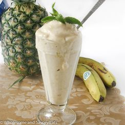 Pineapple Banana Nice Cream