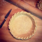 2721b484 9976 4792 86c5 fc646ff8d64a  147047 my pie crusts are perfect before going into the oven.i fill them pull of beans on top of parchment and the edges sag awfully