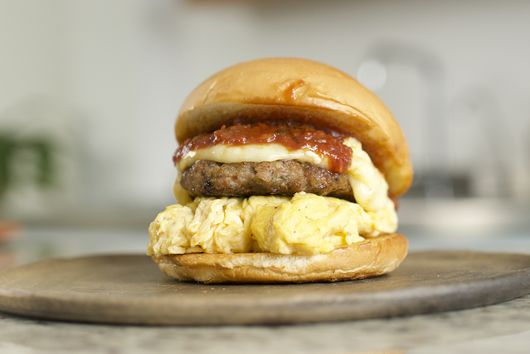 Sweet & Spicy Sausage, Egg & Cheese