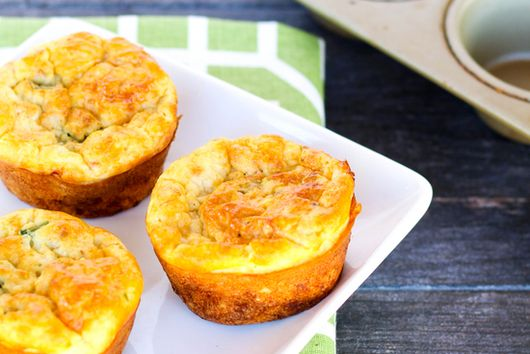Southwest Cottage Cheese Muffins