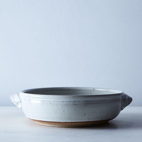 Handthrown Stoneware Casserole Dish