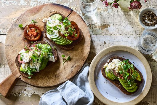 Summer in Denmark Avocado Toast