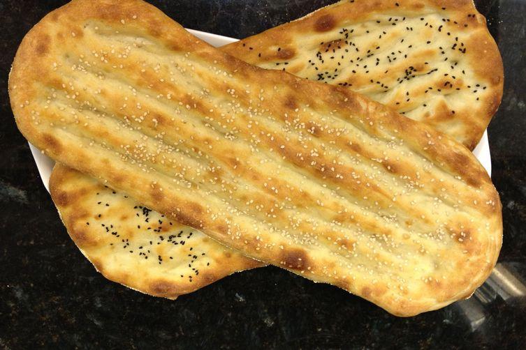 No-knead Barbari Bread