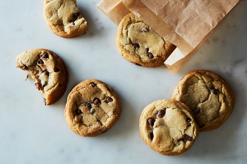 Here's what the cookies will look like if you decide to go sans cobbler.