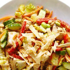 Nutty Asian Chicken Salad