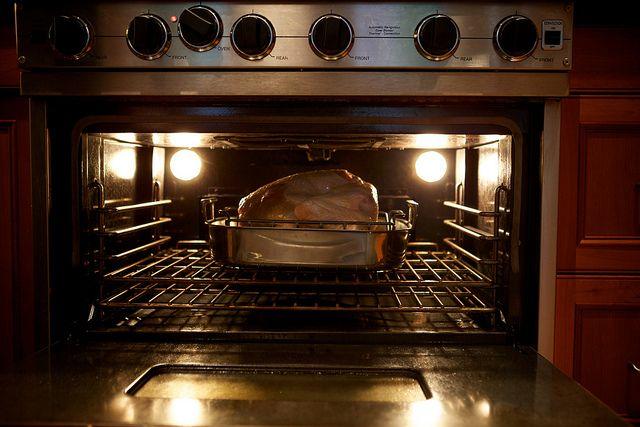 roasting turkey