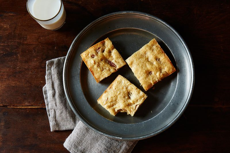 """How would these banana bread blondies become """"banana"""" bread blondies?"""