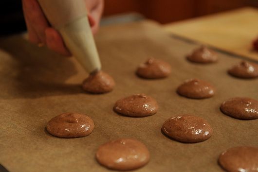Oaxacan Cinnamon Chocolate Macaroons