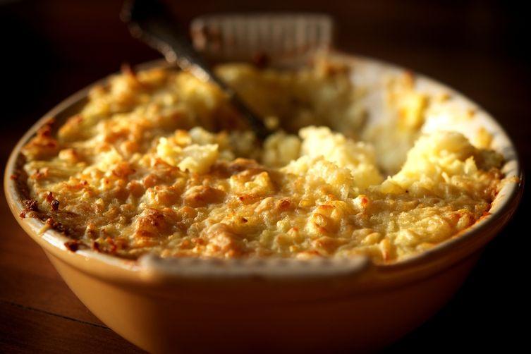 Celery Root And Potato Gratin