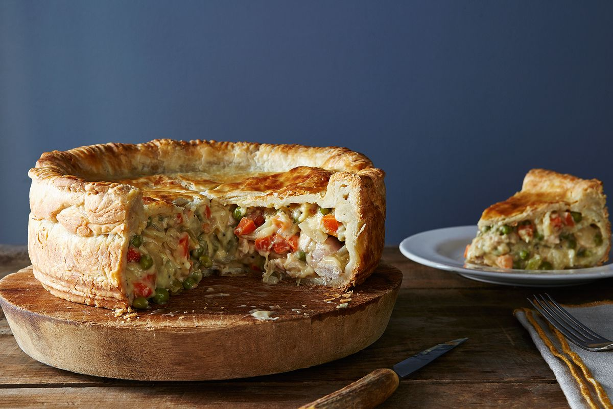 Deep Dish Pot Pie Where All Chicken And Thanksgiving