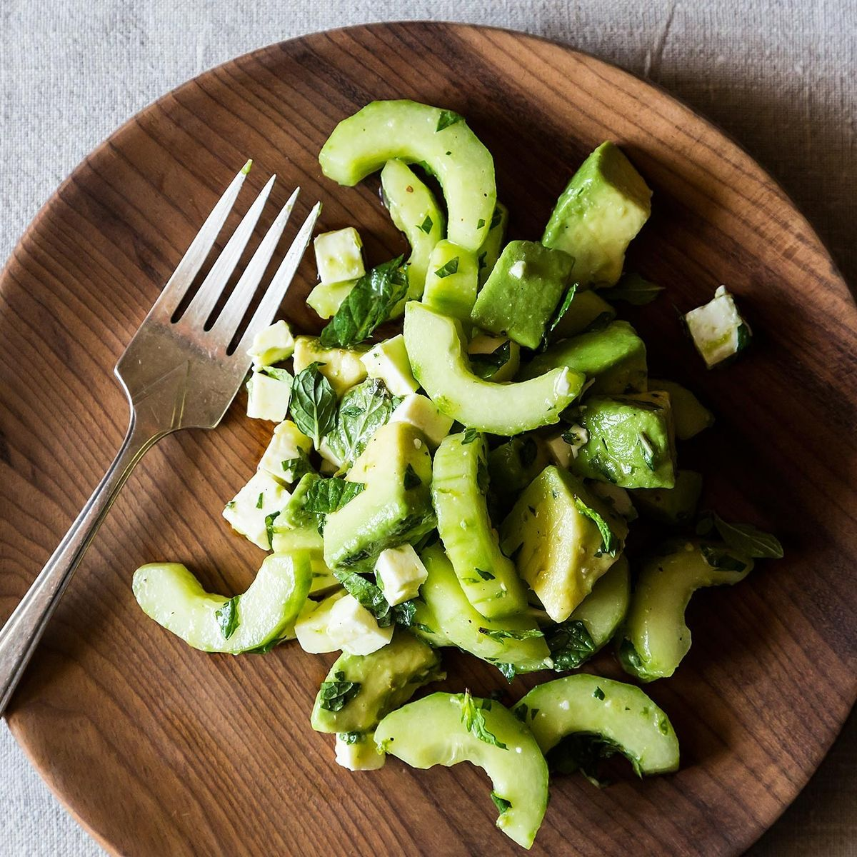 Crunchy Creamy Cucumber Avocado Salad Recipe On Food52