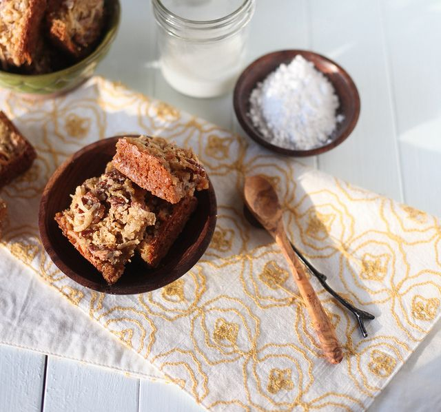 Coconut Bars by Honey & Jam
