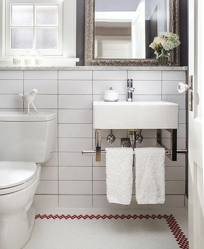5 Less Boring Ways To Pattern Subway Tiles If You Must