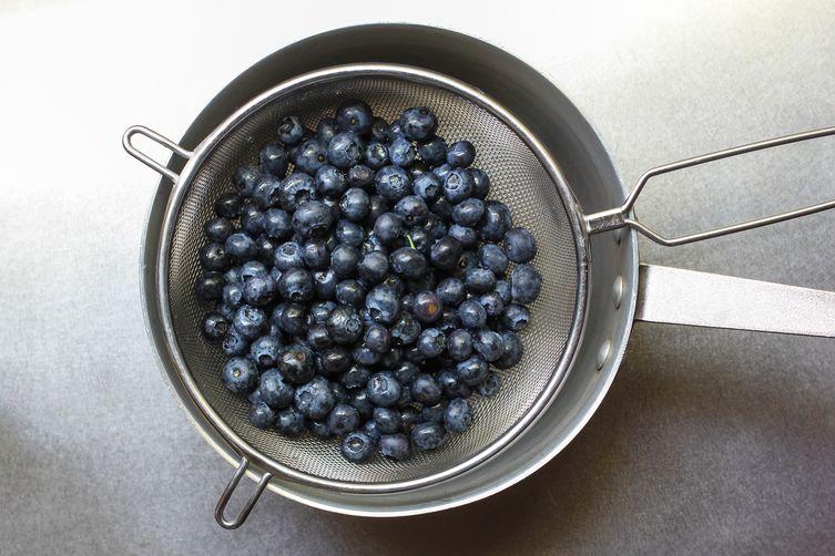 Blueberry Basil Infused Vodka