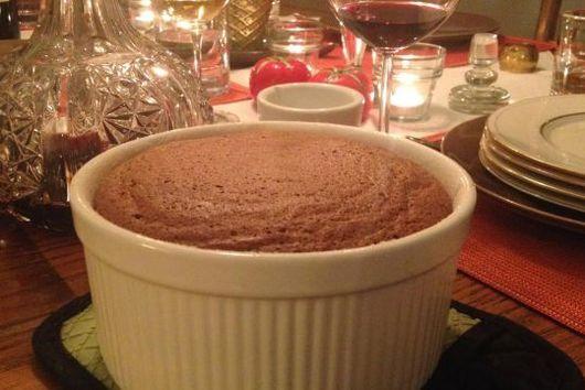 Mark Bittman's Chocolate Souffle