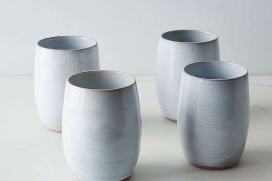 Ceramic Teardrop Tumblers (Set of 4)