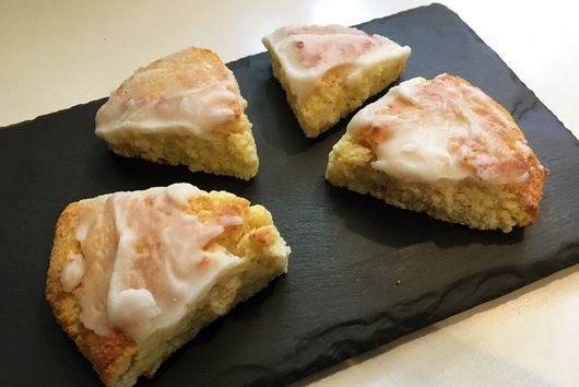 Lemon Ricotta Scones (LC)