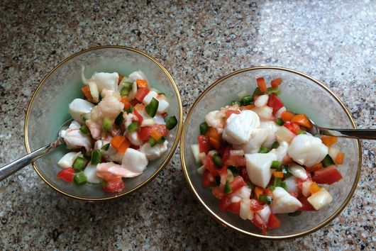 Summer Ceviche Salad