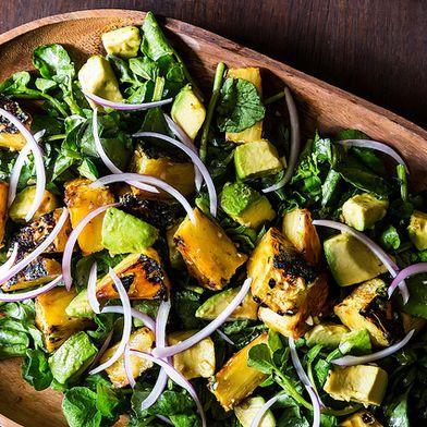 Maricel E. Presilla's Cuban Avocado, Watercress, and Pineapple Salad