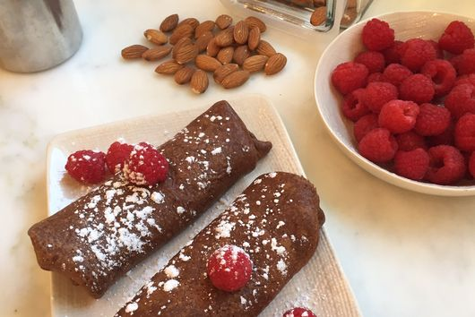 Almond Cacao Crepes