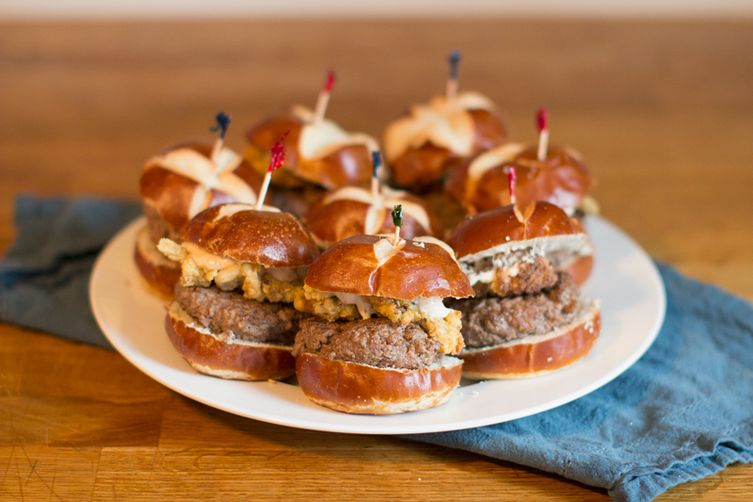Edelman Sliders with Fried Clams