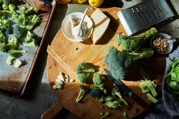 ina garten's parmesan-roasted broccoli recipe on food52