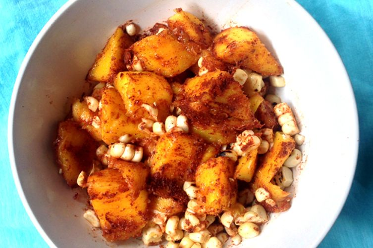 Mango Corn Salsa With Paprika & Ginger