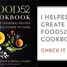 The Food52 Cookbook, Volume II Blogger Badge