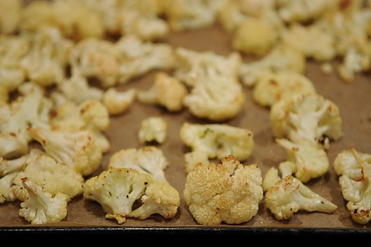 Roasted Cauliflower with Gremolata Breadcrumbs