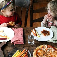 Kids' Skillet Pizza: Jarred Sauce + Mozzarella