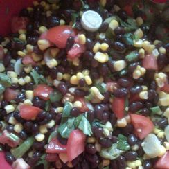 Easy Black-Bean Corn Salad
