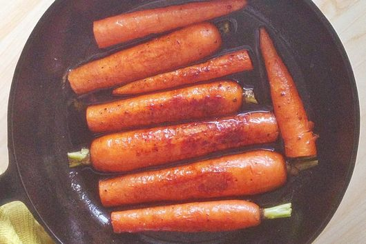 Simple Braised Carrots