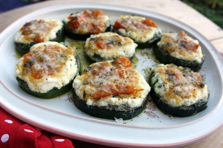 Grilled Zucchini Parmesan