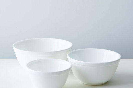Glass 3-Piece Mixing Bowl Set