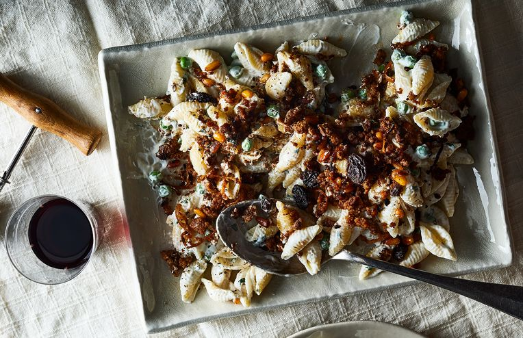 Ottolenghi and Genius Meet in This Creamy Pasta With Crunchy Lamb