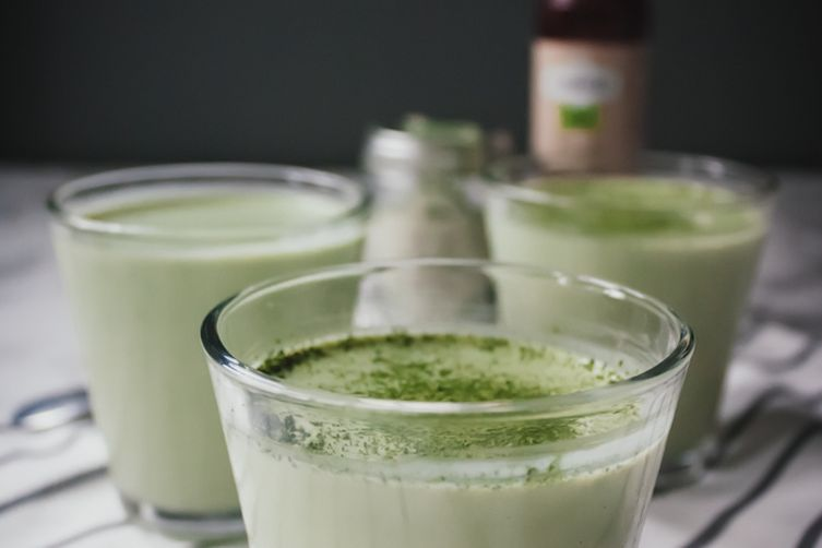 Matcha Green Tea Panna Cotta