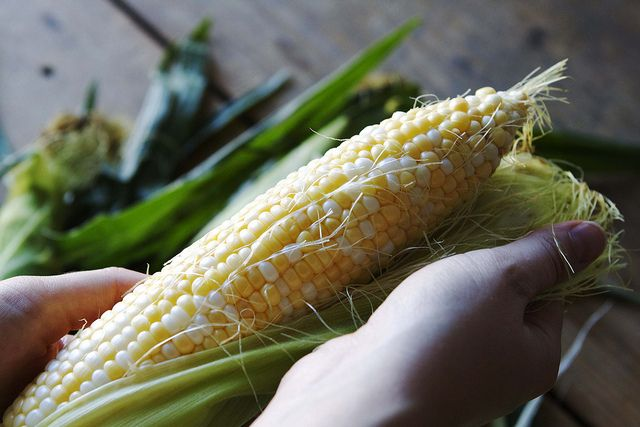 How to Remove the Silk from Corn Cobs, from Food52