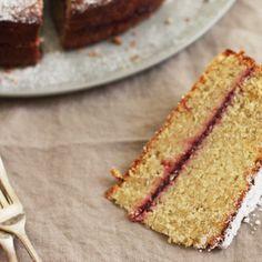 Buckwheat and Apple Cake