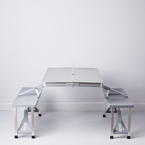 Lightweight Fold-Up Picnic Table