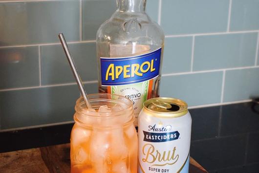 Austin Eastciders Brut Cider Aperol Spritz