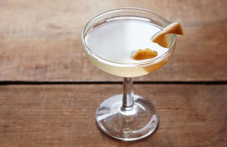 A Particularly Festive Spin on a French 75