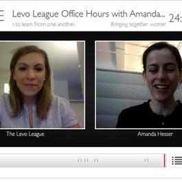 Vokle | Levo League Office Hours with Amanda Hesser, Co-Founder, Food52.com
